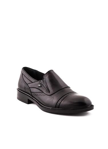 Dr.Flexer 028401 HakıkıDerıErkek Comfort Ayakkabı Sıyah Siyah